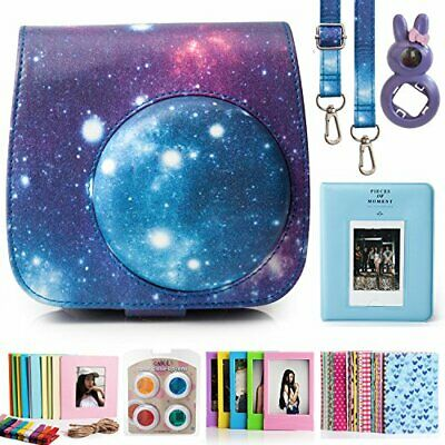 Compatible Fujifilm Instax Mini 9 Film Camera Bundle with Case, Album, Filters..
