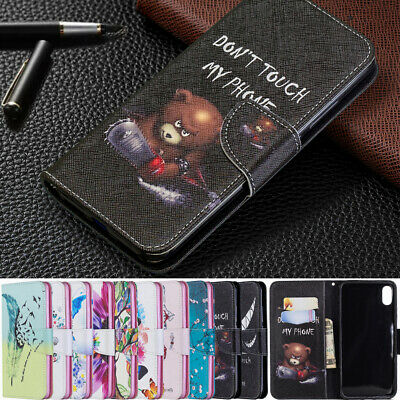 Wallet Card Holder Flip Leather Case Cover For iPhone XS Max XR X 5s 6s 7 8 Plus