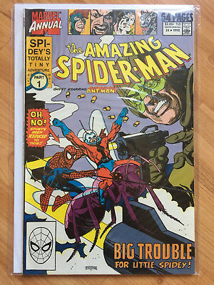The Amazing Spider-Man Annual #24 (1963 Marvel) -- ANT-MAN!