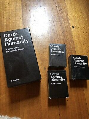 Cards Against Humanity Australian Edition Plus 2 Expansion Sets