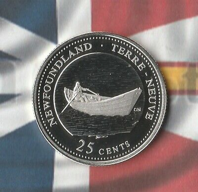 1992 Canada 125th Anniversary Commemorative Sterling Silver Coin- Newfoundland