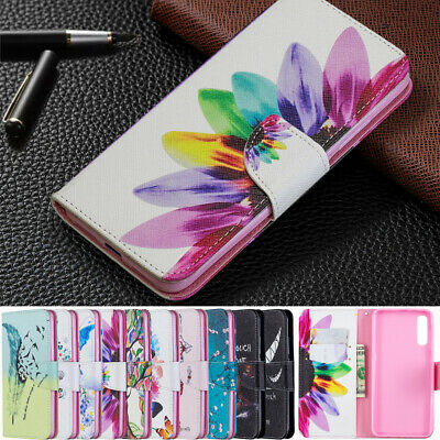 Wallet Card Holder Flip PU Leather Case Cover For Samsung Galaxy A70/A50/A40/A30