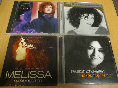 5 CD LOT-Melissa Manchester CD's>Tribute-Gold-Arista Years-You Gotta.(1989-2017)