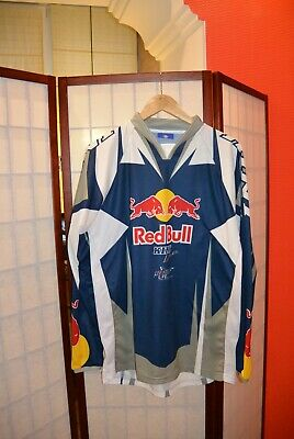 Kini REd Bull competition Motocross jersey Blue gery L
