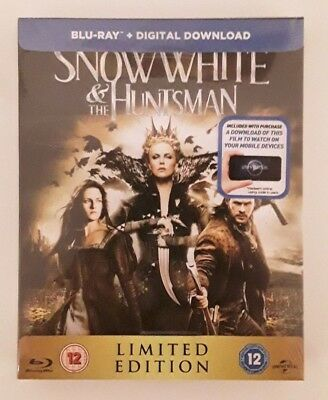 Snow White & The Huntsman Limited Edition Bluray Steelbook - NEW & SEALED