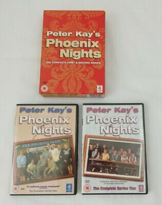 Peter Kay's Phoenix Nights Complete Series 1 & 2 DVD Box Set, Comedy Series