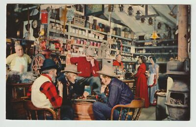 Unused Postcard General Merchandise Store Ghost Town Knotts Berry Farm CA