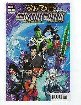 War Of The Realms: New Agents Of Atlas # 1 Zircher 1:50 NM+ Marvel No Reserve