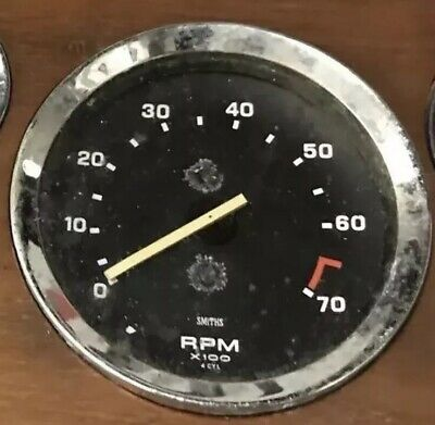 VINTAGE SMITHS REV COUNTER triumph dolomite ect