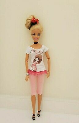 New  top and pants daily outfit clothes fashion for your Barbie doll Au seller