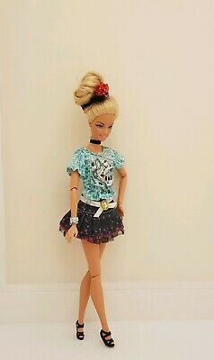 New top and skirt daily outfit clothes fashion for your Barbie doll Au seller