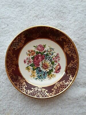 Weatherby Hanley England Royal Falcon Ware Miniature Plate