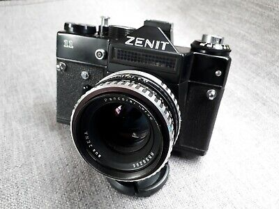 Zenit 11 35mm Camera with Carl Zeiss Jena Pancolar 50mm f1.8 Prime Lens