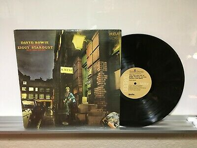 "David Bowie 12in Lp "" The Rise & Fall Of Ziggy Stardust & the Spider From Mars"