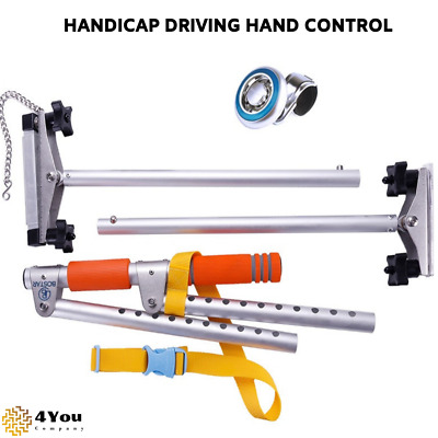 Portable Driving Hand Controls Disabled Driving Handicap Car Aid Equipment294002