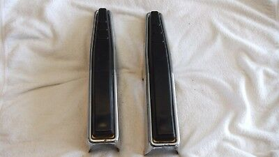 Front Bumper Guards Pair 1967 1968 1973 1977 Ford  F-100 F-250 F-350 Pickup