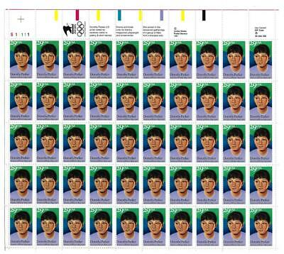 Us Scott 2698 Pane Of 50 Dorothy Parker Stamps 29 Cent Face Mnh