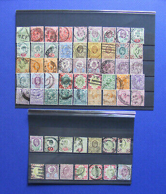 (A11) Collection of good used EDVII stamps - Mixed Used  + KGV Stamps  3 PHOTO'S