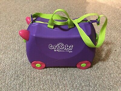 Melissa & Doug TRUNKI Ride-on Rolling Suitcase For Kids
