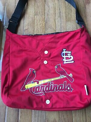 MLB ST. LOUIS CARDINALS ~ Ladies Womens Red Carry-All Handbag Tote Purse
