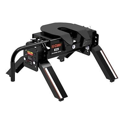 """Curt 16115 E5 Fifth Wheel Hitch with Dual Pivot Head 3.25"""" to 17"""""""