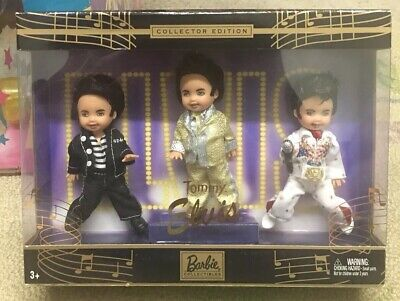 Barbie Collectors Edition 2003 Tommy as Elvis Presley 3-pack New and Unopened