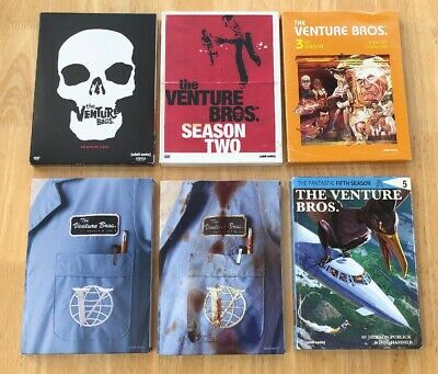 The Venture Bros. Seasons 1-5 DVD