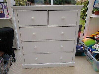 White John Lewis chest of drawers