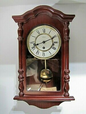 Hermle wall clock with Westminster chimes Vintage Pendulum chiming Striking