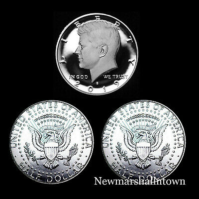 2019 P+D+S Kennedy Half Dollar Mint Proof Set ~ Proof and PD from Mint Rolls