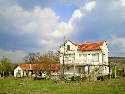 HOUSE AND LAND, PROPERTY FOR SALE IN SOUTHERN OF BULGARIA! 1h DRIVE TO AIRPORT