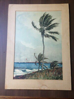 Lithograph Litho signed Homer (Winslow)