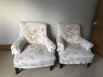 Pair Of Old Antique Believed to Be  French  /vintage Armchairs