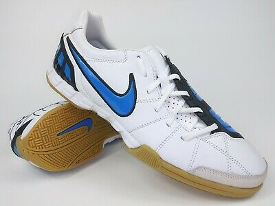 df933af9b36 Nike Mens Rare Total90 Shoot lll L-IC 385437 141 White Blue Indoor Soccer  Shoes