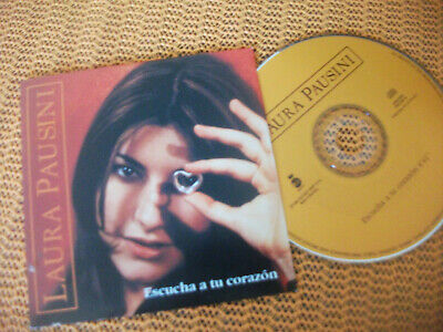 Laura Pasuni Escucha Tu Corazon, Cd Single Promo