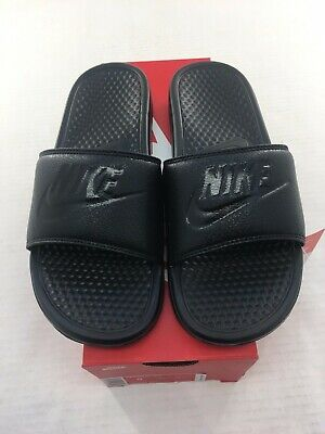Nike Benassi JDI slide sandal Mens Black / Black 343880 001 New Sizes 6- 15