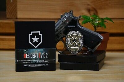 Brand New Resident Evil 2 S.t.a.r.s Stars Limited Edition Collector's Badge Pin