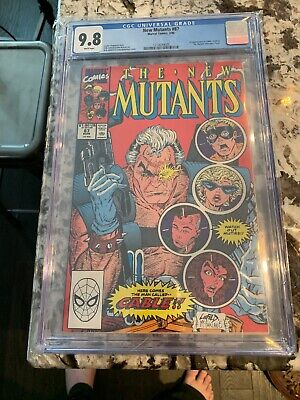 The New Mutants #87 CGC 9.8 - 1st Appearance Of Cable