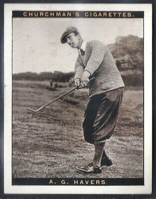Churchman-Famous Golfers Golf (2Nd Series (Large Size))-#05- Arthur Havers
