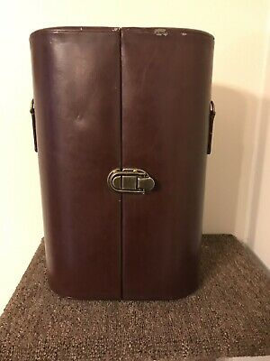 Vintage legacy by picnic time  Wine Bottle Leather bag