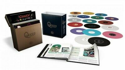 QUEEN COMPLETE STUDIO COLLECTION 18 LP COLOURED BOX SET brand new factory sealed