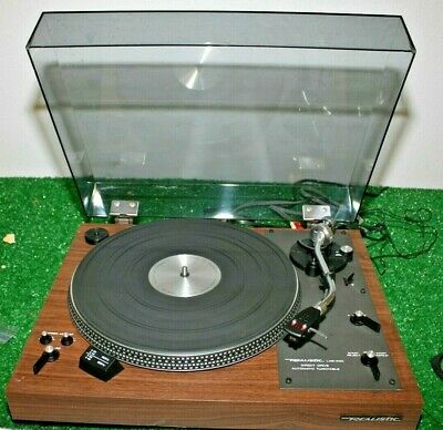 Vintage Realistic Lab-400 Lab 400 Turntable Direct Drive Wood Grain Automatic