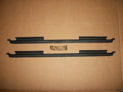 NOS PAIR of 1947 FORD TRUCK Window Regulator Glass Channels 47 FOMOCO