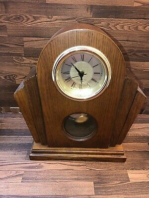 Beautiful mid century modern Westminister Chime Mantle Clock