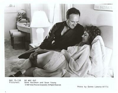 Gene Hackman Sean Young 8x10 Photo Picture Very Nice Fast Free Shipping #1