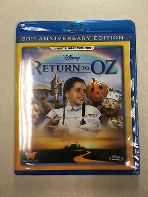 Return to Oz Disney Blu-ray Exclusive *30th Anniversary Edition* NEW & SEALED