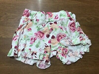 Betsey Johnson Baby Girls Rose Floral Shorts 12-18 Months