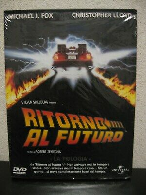 cofanetto dvd  RITORNO AL FUTURO  LA TRILOGIA  come nuovo  !  back to the future