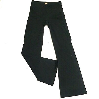 b757f5c1050e1 Lucy Power Pants Athleisure Yoga Stretch Flare Leg Womens Size S Short Flaw