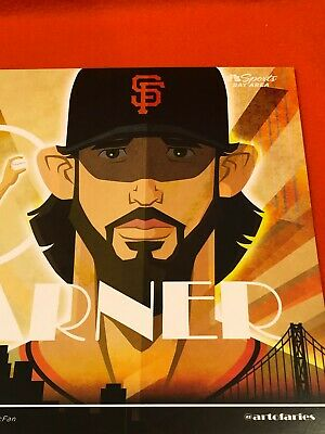 Cheer Card San Francisco SF Giants Authentic Fan Madison Bumgarner New 4/30/19